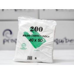 Bolsas camiseta 40x50