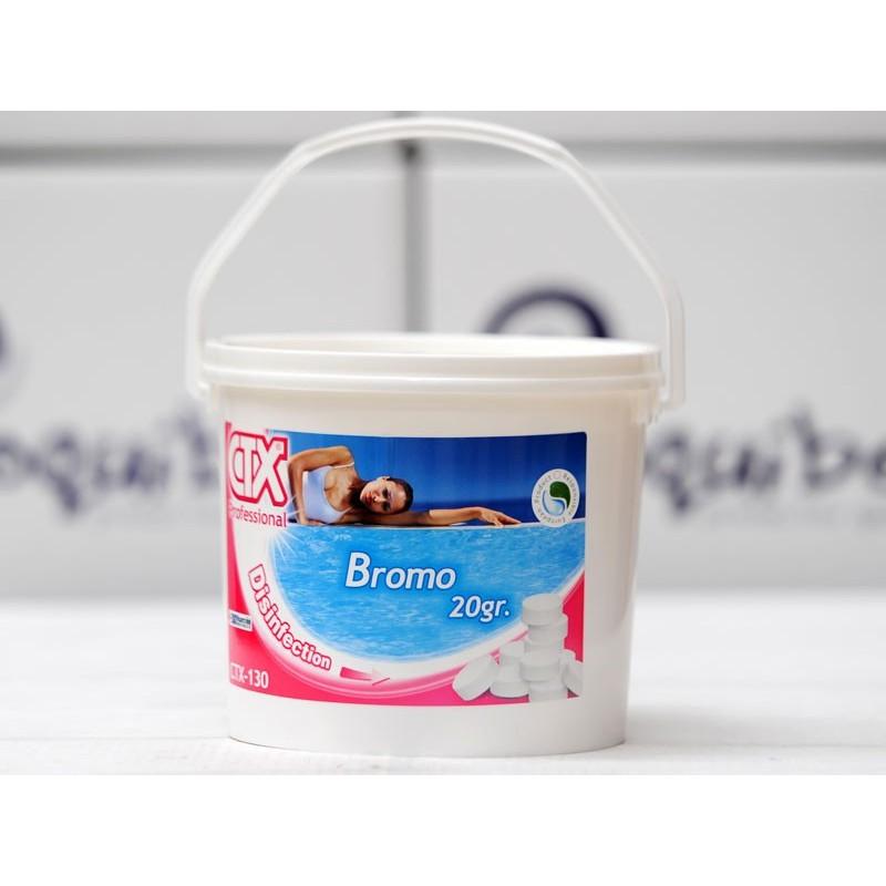 Ctx bromo 20 gr for Bromo para piscinas