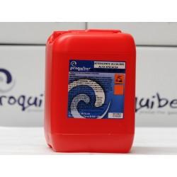 Detergente alcalino alta eficacia
