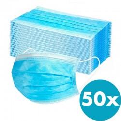 mascarillas quirúrgicas - caja de 50 unidades